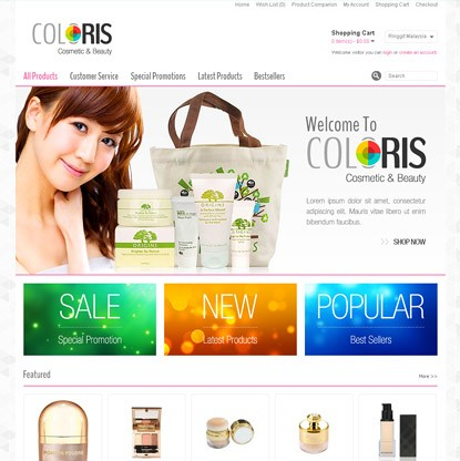 Coloris Template