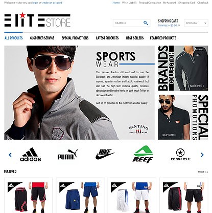EliteStore Template