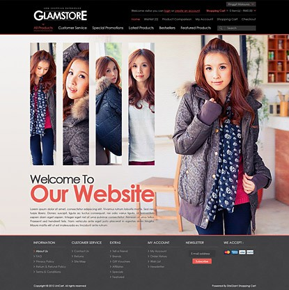 Glamstore Template