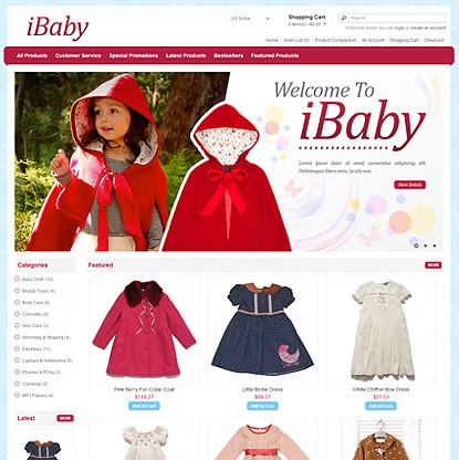 Ibaby Template